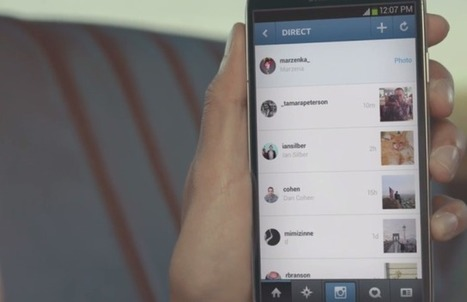 Instagram Introduces Instagram Direct | Social Media, SEO, Mobile, Digital Marketing | Scoop.it