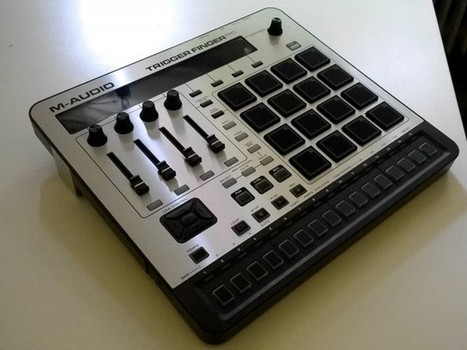 M-Audio's Trigger Finger Pro, in Videos: Think Three Devices in One - Create Digital Music   Electro   Scoop.it