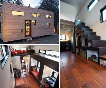 Di necessità virtù… così una giovane coppia americana decide di costruire su un rimorchio la propria casa. | Notizie Immobiliari | Scoop.it