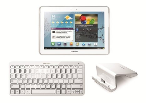 Samsung Galaxy Tab 2 Bundle 10.1 inch 16 GB Tablet (White), Bluetooth Keyboard and Desktop Dock | Best Reviews of Android Tablets | Scoop.it