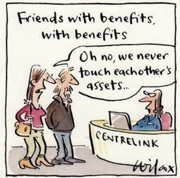 Friends with benefits win Centrelink benefits | DSODE Preliminary Legal Studies | Scoop.it