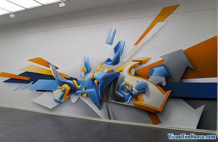 76 Unbelievable Street And Wall Art Illusions | ArtTH | Scoop.it