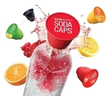 Sodastream lance ses capsules les Sodastreamcaps | Le BCC! InfoMarques - Toute l'actualité des marques et des enseignes | Scoop.it