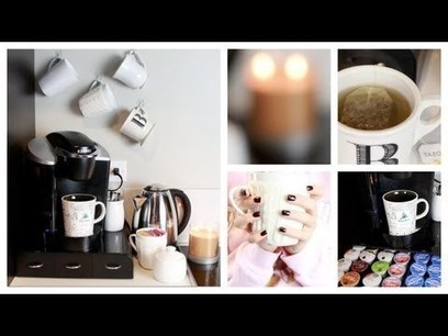 DIY: At Home Coffee & Tea Bar! | MyFunLife | Scoop.it