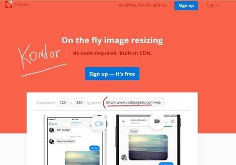 Firesize, cambiar el tamaño a una imagen online nunca será más fácil | Las TIC en el aula de ELE | Scoop.it