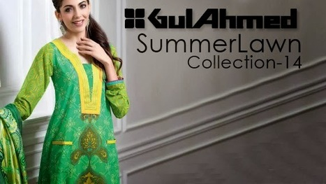 Superb Gul Ahmed Lawn Collection 2014- 2015 | Women's Favourite | Scoop.it