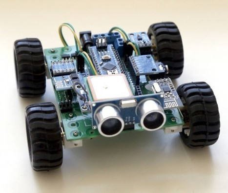 Hackabot Nano: Compact Plug and Play Arduino Robot | Raspberry Pi | Scoop.it