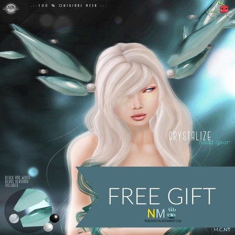 Crystallize Headgear Cyber Monday Freebie Collection - NessMarket | Second Life Freebies and bargains | Scoop.it
