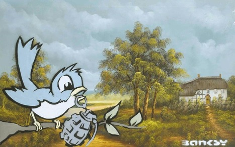 Viewpoints: Top 25 Most Expensive Banksy Works Ever « Arrested Motion | Banksy - Street Artist | Scoop.it