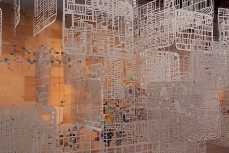 Stunning Installation Represents Life in Abstract Patterns | Le It e Amo ✪ | Scoop.it