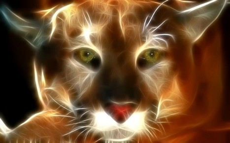 Digital art cougar | InspiredStream is A new Media Hub Live and Uploading from Artists All Over the World | Scoop.it