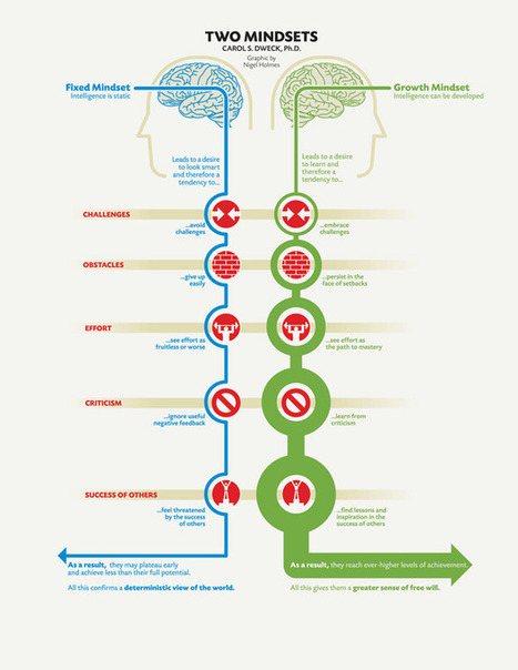 Carol Dweck: The Two Mindsets | Live different taste the difference | Scoop.it