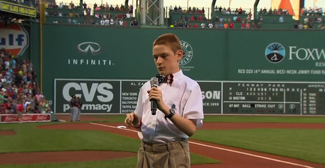 14-year-old autistic boy breaks off a national anthem for the ages | Autism & Special Needs | Scoop.it