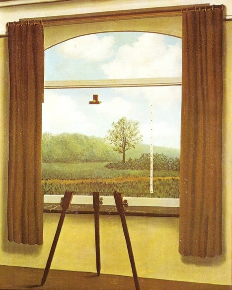 The Human Condition by René Magritte, 1933. | Magritte | Scoop.it