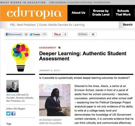 Deeper Learning: Authentic Student Assessment   Pathbrite   Mahara ePortfolio   Finding ePortfolios   Scoop.it