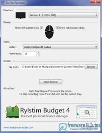 Rylstim Screen Recorder : un logiciel portable de screencasting | Ingénierie Pédagogique | Scoop.it