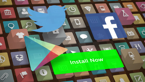 Facebook, Google, And Twitter's War For App Install Ads - TechCrunch | Social Media Epic | Scoop.it