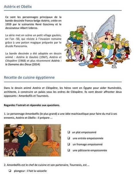 Le pudding à l'arsenic ! | La bande dessinée FLE | Scoop.it