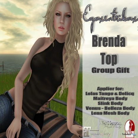 Brenda Top with Mesh Body Appliers Group Gift by Egoxentrikax   Teleport Hub - Second Life Freebies   Second Life Freebies   Scoop.it
