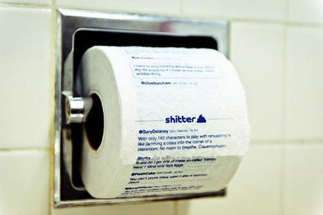 Votre flux de tweets imprimé sur du papier toilette | À toute berzingue… | Scoop.it