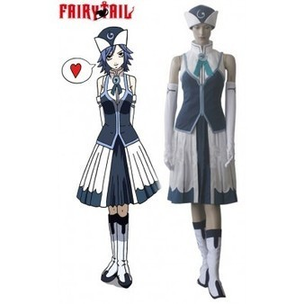 Fairy Tail Rain Woman Juvia Lockser cosplay costume | cosplay costumes | Scoop.it