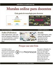 Murales online para docentes (Padlet-Murally) | Educación Tic's | Scoop.it