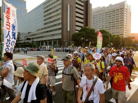 Japanese Government Literally Surrounded By Anti-Nuclear Protestors : Japan Subculture Research Center | Messenger for mother Earth | Scoop.it