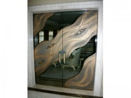 How A Decorative Glass Door Can Change Your Life - CBD Glass | Functional Glass Art | Scoop.it