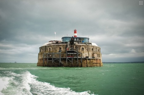 A Sea Fort Hotel To HELP YOU Escape From Those Villains (And Your Everyday Life) - Explore, Collect and Source architecture & interiors   The Architecture of the City   Scoop.it