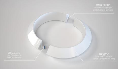 Mini Projector Bangle by Prospective Design Studio | NewHiTechGadgets | Scoop.it