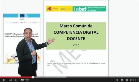 ¿Qué es y cómo se describe la Competencia Digital? | Mooc | Educacion, ecologia y TIC | Scoop.it