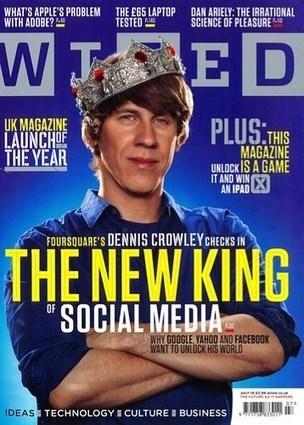 Dennis Crowley: The New Social Media King? | Social Media Article Sharing | Scoop.it