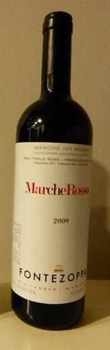 2009 Fontezoppa Rosso Marche Review | Wines and People | Scoop.it