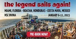 Jam Cruise Announces Dates and Ports for 2015 - jambands.com | Jam scene | Scoop.it