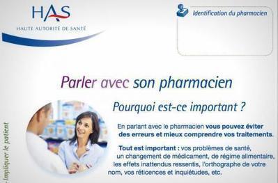 La HAS publie une brochure « Parler avec son pharmacien » | Les News Pharmacie | Scoop.it