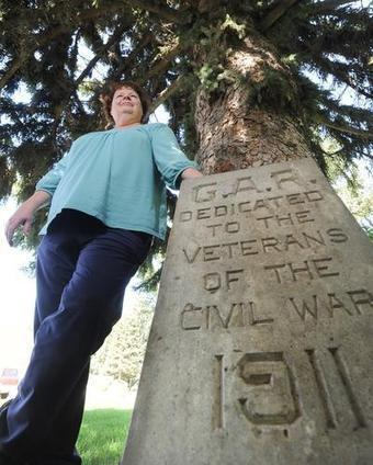 Forgotten Civil War monument discovered in Idaho cemetery - The Spokesman Review | Memorial, Monument and Mausoleum Designers | Scoop.it