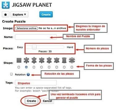 Cómo hacer puzzles interactivos para la PDI   LAS TIC EN EL COLEGIO   Scoop.it