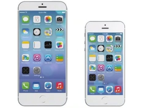 iPhone 6 with a larger 4.8in display could launch in September | OEM Repair Parts for Apple iPhone 6 | Scoop.it