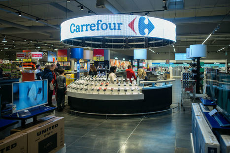 Carrefour présente ses derniers concepts et innovations magasin [Vidéo] | Fundamentals of Marketing | Scoop.it