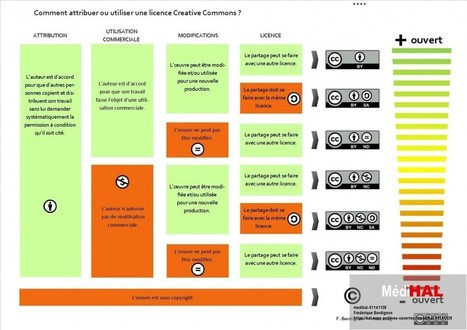 Comprendre et utiliser les licences Creative Commons | The Daily Learning News | TICE, DOC & MEDIAS | Scoop.it