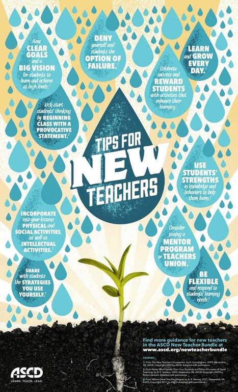 10 Success Strategies for New Teachers - Brilliant or Insane | Education Zone | Scoop.it