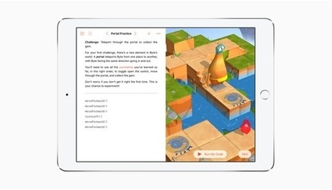 Apple's new coding curriculum says Everyone Can Code | aect | Scoop.it