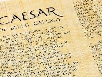 De C. Iulio Caesare | EURICLEA | Scoop.it