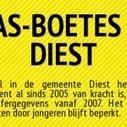 Infografiek: GAS-boetes in Diest | Gemeentelijke Administratieve Sancties | Scoop.it