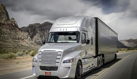 First self-driving semi-truck in U.S. hits the road — on the Hoover Dam | Xposed | Scoop.it