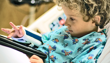 'Virtual visits' lower stress for kids in the hospital - Futurity | Living Resilient | Scoop.it