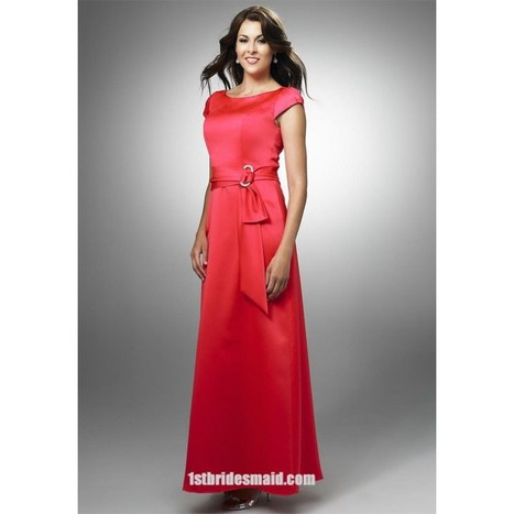 Red Bridesmaid Dresses | Bridesmaid Wedding Gowns | Scoop.it