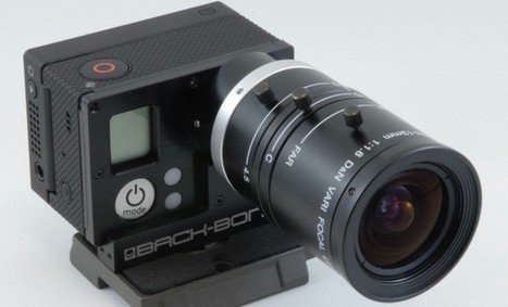 Give Your GoPro HERO3 Interchangeable Lenses with the Back-Bone Ribcage « No Film School | HDSLR | Scoop.it
