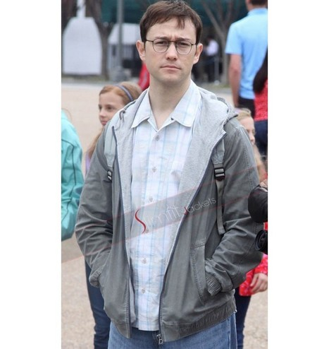 Edward Snowden Grey Jacket | Famous TV Series Leather Jackets | Scoop.it