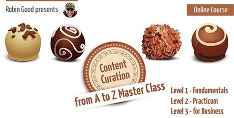 Content Curation from A to Z: An Online Course with Robin Good | Social Media in Manufacturing Today | Scoop.it